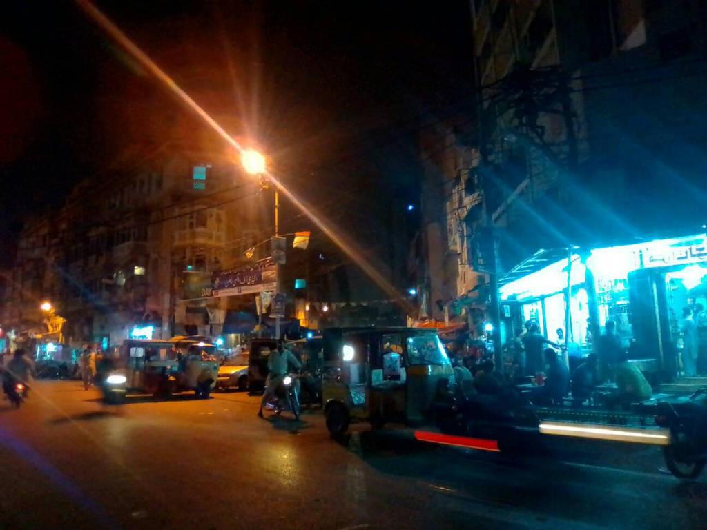 Street of Pakistan Chowk  by jsf-35