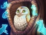 Happy Howlyween by little-owlette