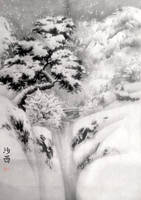 [Sei] Winter landscape (ver. 1) by bsshka