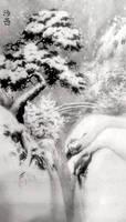 [Sei] Winter landscape (ver. 2) by bsshka