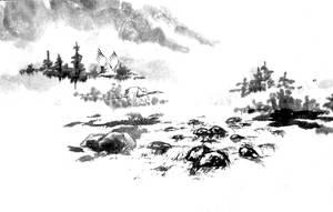[Sei] Landscape sketch by bsshka