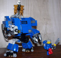 LEGO Space Marine Dreadnought by Brickule