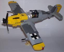 Messerschmitt BF 109 by Brickule