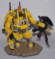 Caterpillar P-5000 Work Loader by Brickule