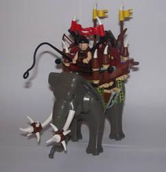 War elephant by Brickule