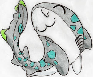 Huggable Shark by Brickule