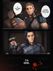 Thor and Loki by egoNorainu