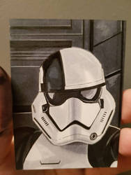 electrocutioner stormtrooper aceo by yorkshirepudding1990