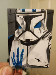 clone trooper echo ACEO #77 by yorkshirepudding1990