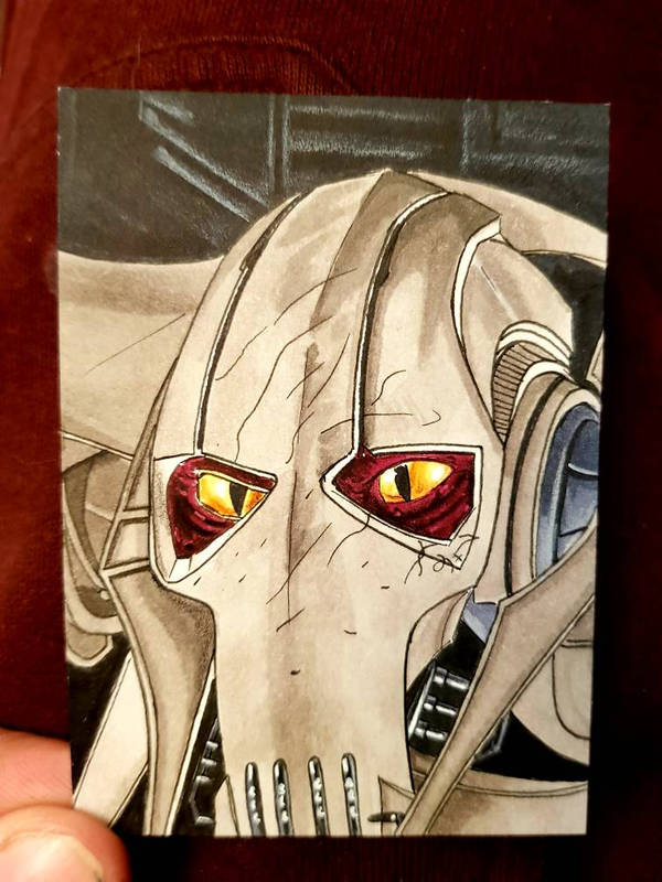 grievous ACEO #82 by yorkshirepudding1990