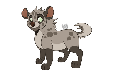 Hyena Adopt | OPEN by Purrfectpal