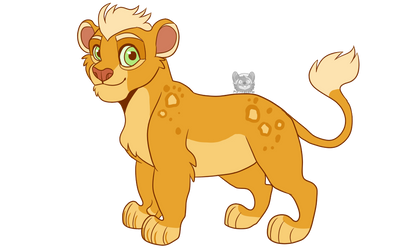 Omari Lion by Purrfectpal