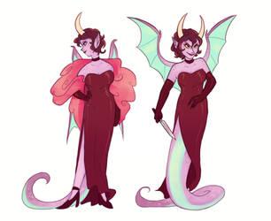 Lilith (Cuphead OC) by bright-goat