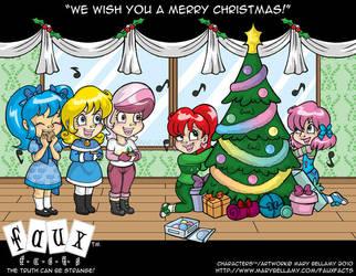 FF Merry Christmas by MaryBellamy