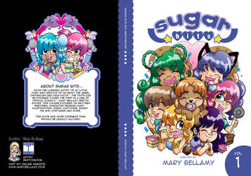 Updated Sugar Bits Vol 1 Cover by MaryBellamy