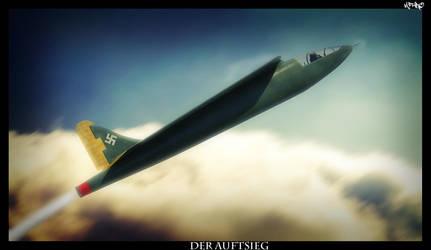 Pfeil Flugzeug Der aufstieg by HamzaLippisch