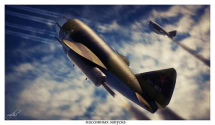 Golovin IVS / ISF Massive launch by HamzaLippisch