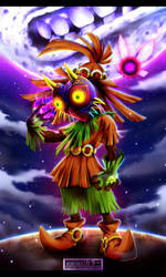 The Legend of Zelda - Majora's Mask by Kortrex