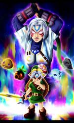 The Legend of Zelda - Fierce Deity by Kortrex