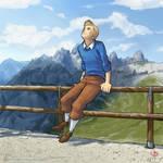 Tintin in montagna by Hiei-Ishida