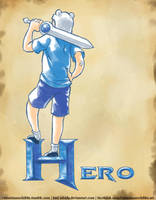 Hero by Hiei-Ishida
