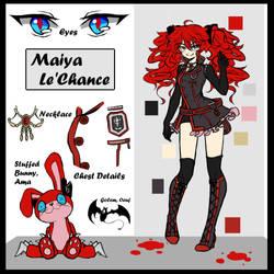 {DGM} +Maiya Reference+ by Erii--Chan
