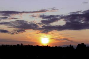 Summer Sunset by Hrasulee