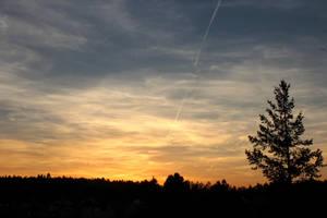 Sunset by Hrasulee