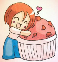 I love the Muffin man by mewski-chan