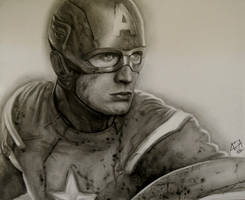 Captain America by analuizantunes