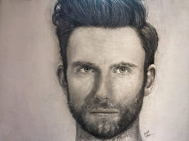 Adam Levine Drawing by analuizantunes