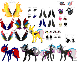Flaming Rainbow-Reference Sheet by OhFlaming-Rainbow