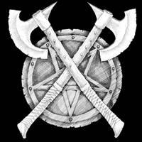 Gravewurm Shirt Front by Saevus