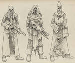 Faction Troops by Saevus