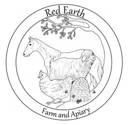 Red Earth Farm Logo by Saevus