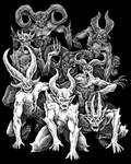 Diabolic Demons by Saevus