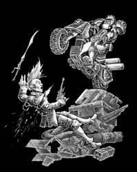Metal Judge by Saevus