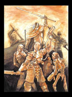 Battle of the Anachronisms by Saevus