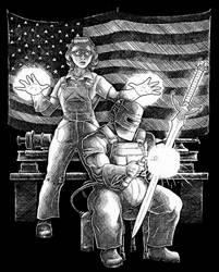 US Steel by Saevus