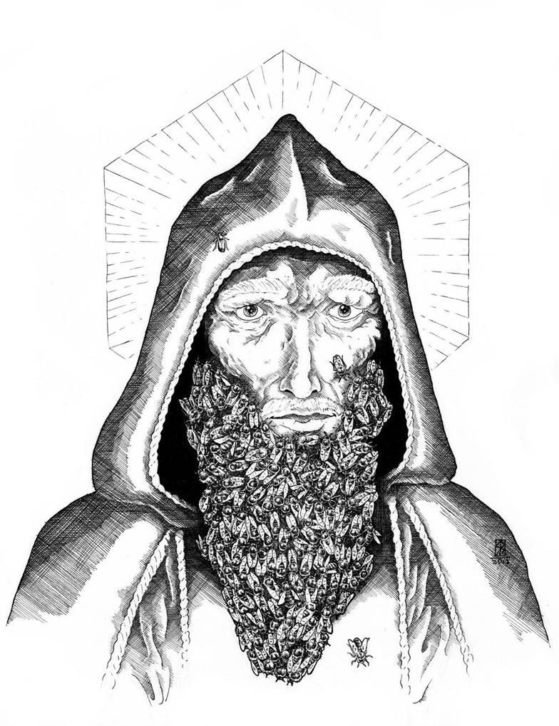 St Ambrose by Saevus