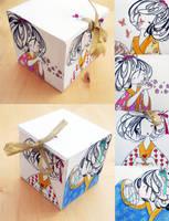 Paper Geisha Box by PalletsArt