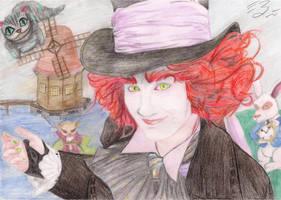 Tristezza goes to Wonderland by Miru-sama