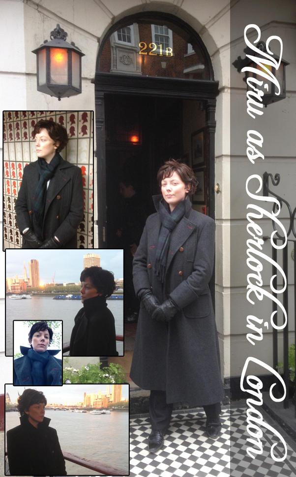 Sherlock [BBC] in London by Miru-sama