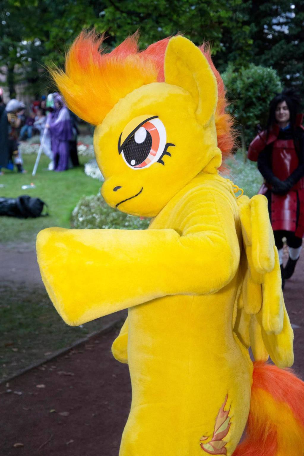 Spitfire [My little Pony] Costume (Fursuit) by Miru-sama