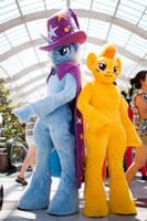 Spitfire and Trixi [My little Pony] Costume by Miru-sama