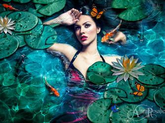 Water Nymph by AdaraRosalie