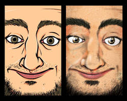 Self Portrait Test by cgianelloni