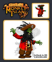 LeChuck in HD by cgianelloni