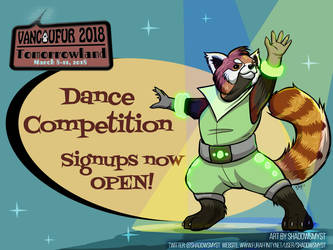 VF2018 Dance Competition signups open! by Vancoufur