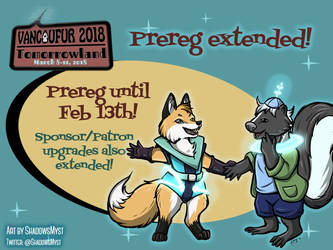 VF2018 Prereg extended to Feb 13 by Vancoufur